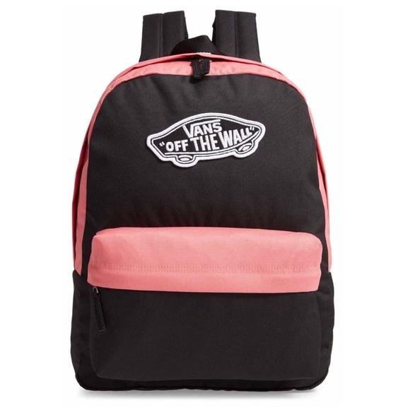 6a1a8e637d Vans Bags   Nwt Realm Backpack   Poshmark